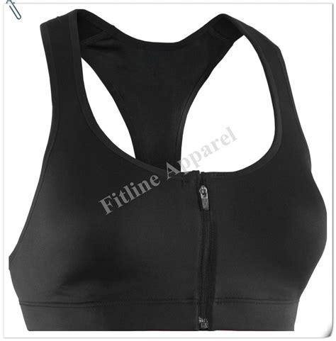 sports bra crop top and bra front zipper sports bra