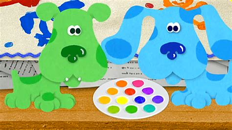 blues clues green green puppy blues clues www imgkid the image kid has it