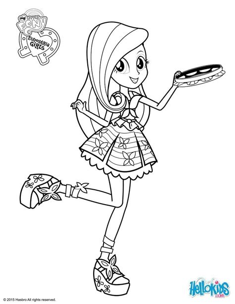 pony coloring pages fluttershy