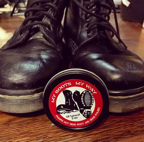 Pomade Boots pomps not dead pomade angry and poor