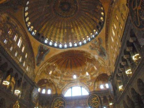 cupola di santa sofia santa sof 237 a c 250 central picture of hagia