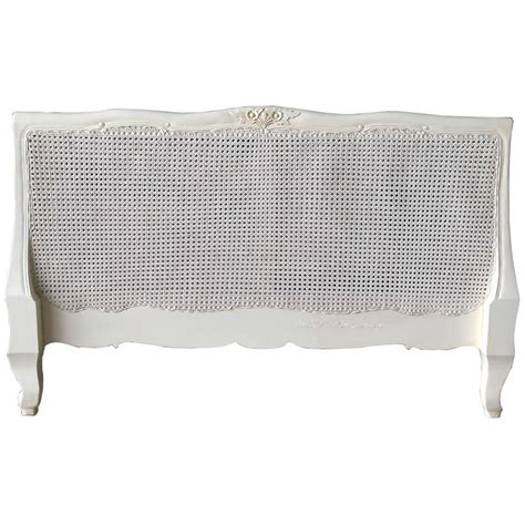 rattan headboard double louis rattan headboard french bedroom 163 285 00