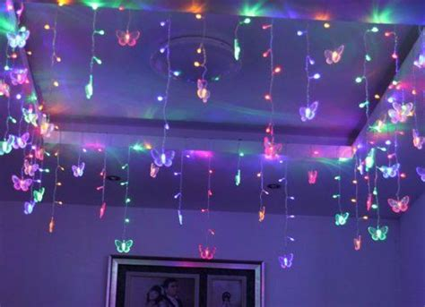 string lights for girls bedroom butterfly shaped string ornaments shape led string light