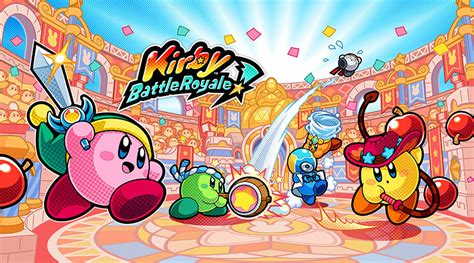 Nintendo 3ds Kirby Battle Royale kirby battle royale announced for nintendo 3ds handheld