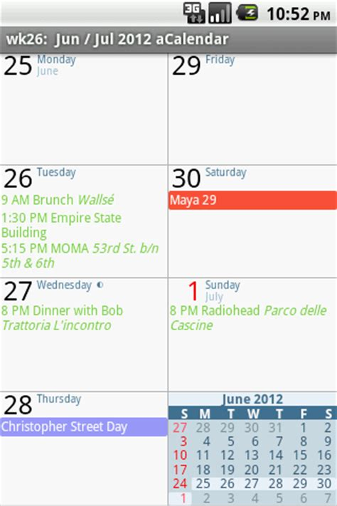 acalendar android calendar acalendar android calendar apk for android