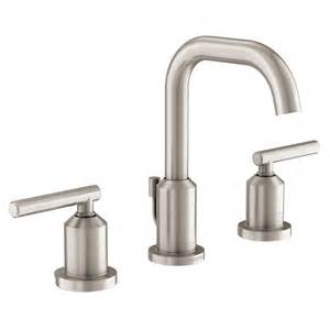 Watersense Kitchen Faucet by Shop Moen Gibson Spot Resist Brushed Nickel 2 Handle