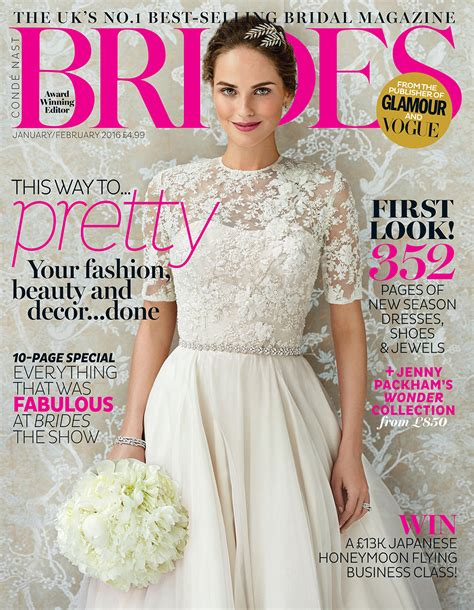 Bridal Magazines by Brides Magazine Caroline Castigliano