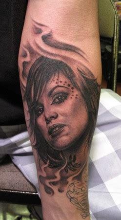 kat von d portrait tattoo bob tyrrells gallery tattoos realistic d