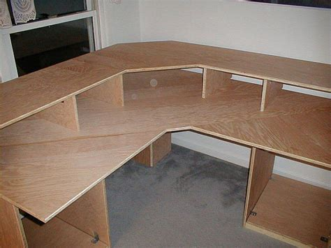 Diy Corner Computer Desk Plans Woodworking Plans Corner Desk
