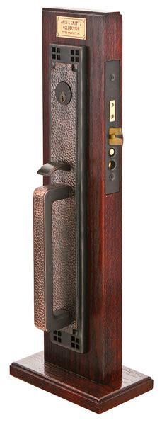 Entrance Handleset Exterior Door Hardware Emtek Door Hardware Emtek Craftsman Mortise Entry Handleset