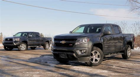 by the numbers 2015 chevy colorado vs tacoma frontier 2015 chevrolet colorado vs 2015 toyota tacoma youtube