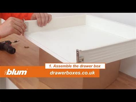 Blum Drawer Removal by Replacement Kitchen Drawer How To Fit Blum Metabox Ebay