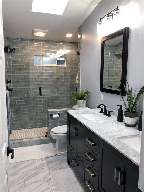 tiny restroom style transformation