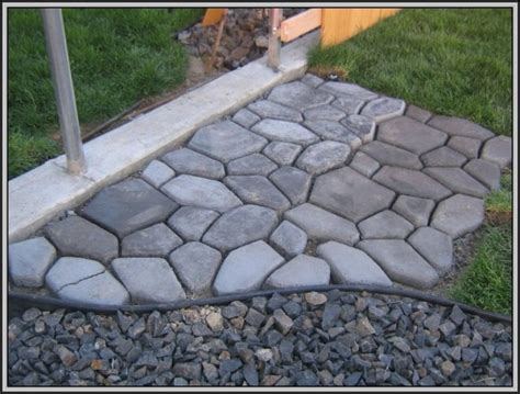 concrete walkway molds canada patios home decorating
