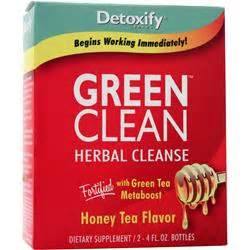 Total Carbohydrates In Detox Island Green by Detoxify Green Clean Herbal Cleanse On Sale At