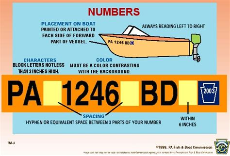 fishing boat registration boat registration numbers