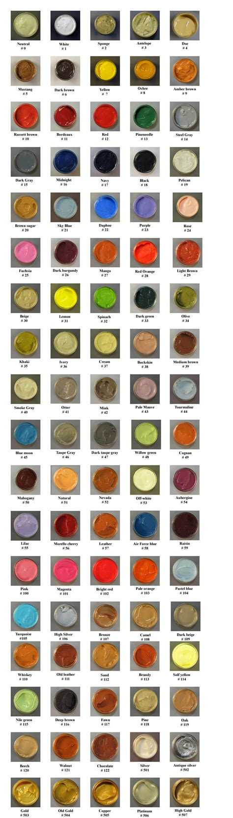 tarrago shoe 90 colors to choose from shoe care