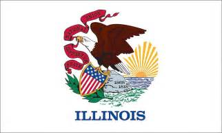 illinois state colors 6 x 10 illinois flag
