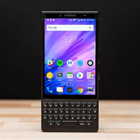 blackberry key2 review a keyboard with a phone the verge