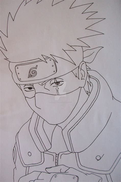 Drawing Kakashi by Kakashi Hatake Sharingan By Sakakithemastermind On Deviantart
