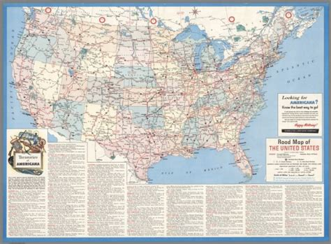 road maps of the united states road map of the united states except alaska and hawaii