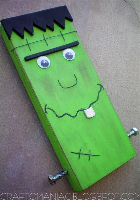 Make A Frankenstein Flag 365 Days Of Crafts Inspiration - meet mr block franky craft o maniac