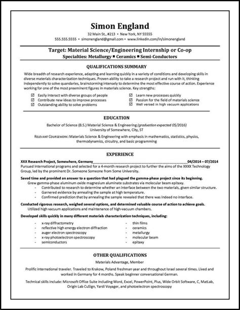 Resume Templates Specific Write About Something That S Important Student Resume Helper