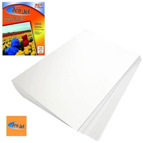 Bantex Ink Jet Photo Paper A4 Premium 10 Sheets 225gr Ref8001 04 pro jet matte a4 inkjet photo paper 110gsm 100 sheets