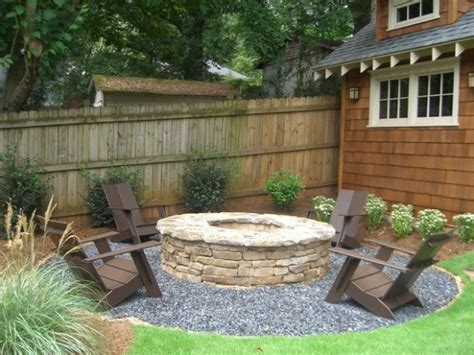 backyard area designs 18 great fire pit ideas for your outdoor area style