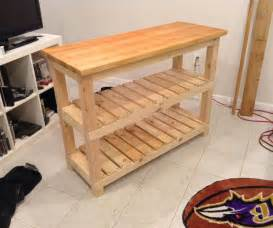 how to build a kitchen island table diy butcher block kitchen island