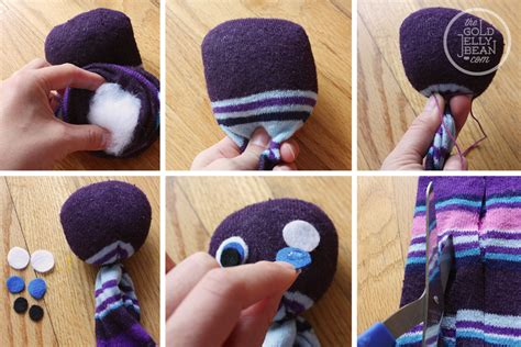 sock crafts sock octopus craft for the gold jellybean