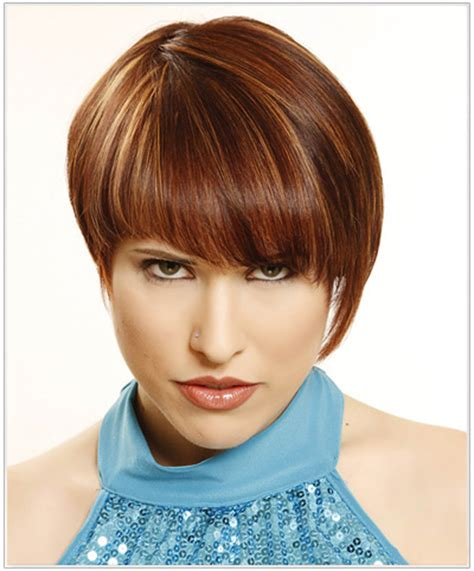 easy to manage short hairstyles with fringe fabulous fringes thehairstyler com