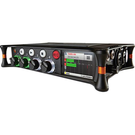 sound devices mixpre 6 audio recorder mixer and usb mixpre 6 b h