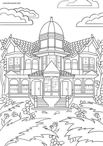 coloring pages for adults victorian printable coloring pages victorian houses coloring pages