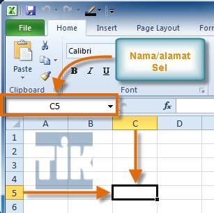 tutorial excel om mengenal cell dasar microsoft excel 2010 tutorial ilmu