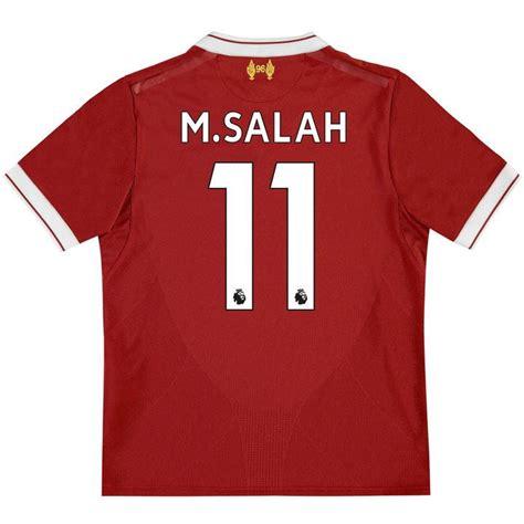 M Salah Liverpool 2017 2018 Home Away Third Style Nameset sportfun bg ливърпул