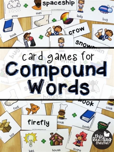 printable word ending games words free card games and word free on pinterest