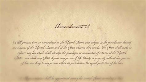 fourteenth amendment section 1 an affirmative power to interpret congress and section 5