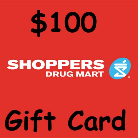 Shoppers Gift Cards - 100 shoppers drug mart gift card entertain kids on a dime blog
