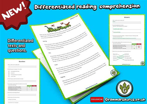 reading comprehension on new year new year 2 differentiated reading comprehension