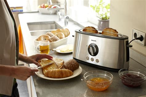 kitchens toaster on counter philips new avance collection