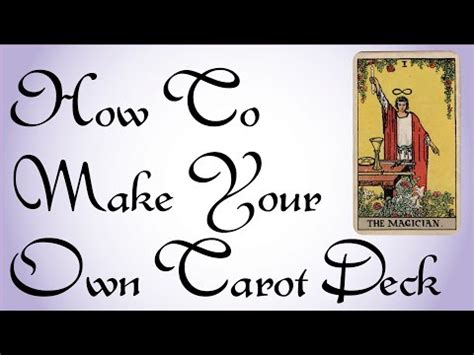 how to make your own tarot cards make your own tarot cards images
