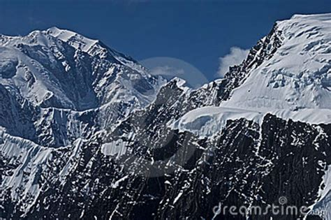 Rugged Mountains by Rugged Mountain And Snow Royalty Free Stock Photos Image