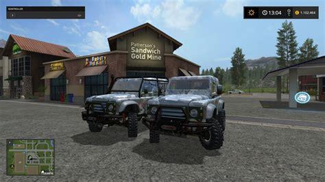 land rover mod land rover defender mod farming simulator 2017 17 ls mod