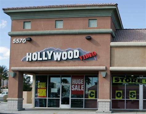 hollywood video  close    las vegas stores