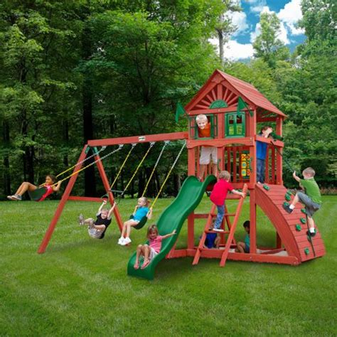 playground sets for backyards costco gorilla 174 playsets hemisphere playset do it yourself sale