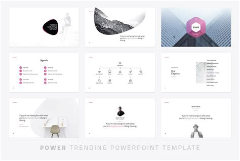 Power Modern Powerpoint Template Just Free Slides Ppt Templates