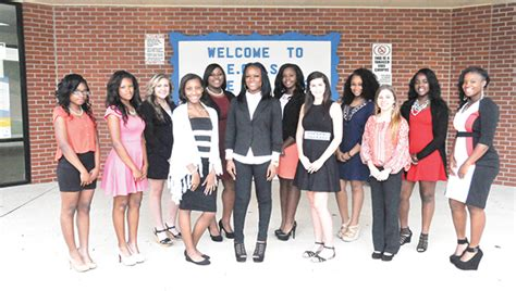 Escambia County Birth Records 2015 Escambia County Homecoming Court The Atmore Advance