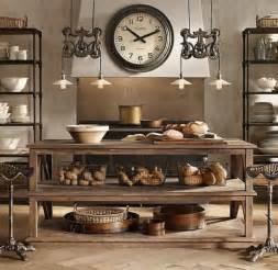 Restoration Hardware Kitchen Island 25 Interior Designs With Steampunk Style Messagenote