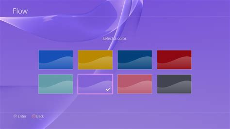 ps4 color the next major update for the ps4 firmware is bring so